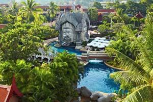 Phuket Orchid hotelli Thaimaassa.