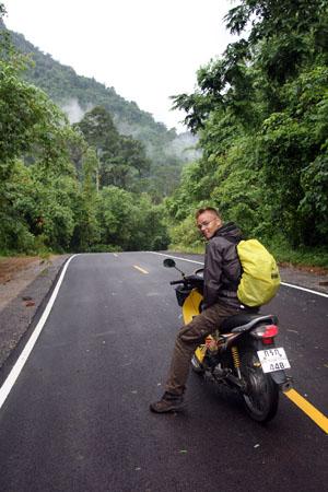 Moottoripyörällä Pohjois-Thaimaassa