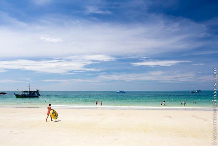 Had Sai Kaew Koh Samet Thaimaa