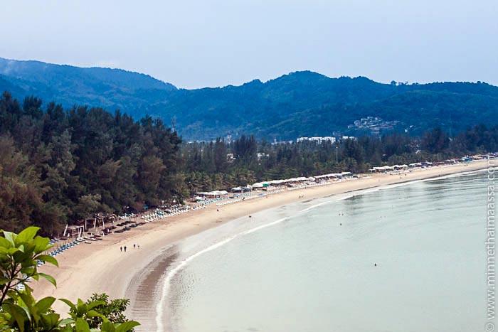 Kamala Beach Phuket Thaimaa eläkkeellä