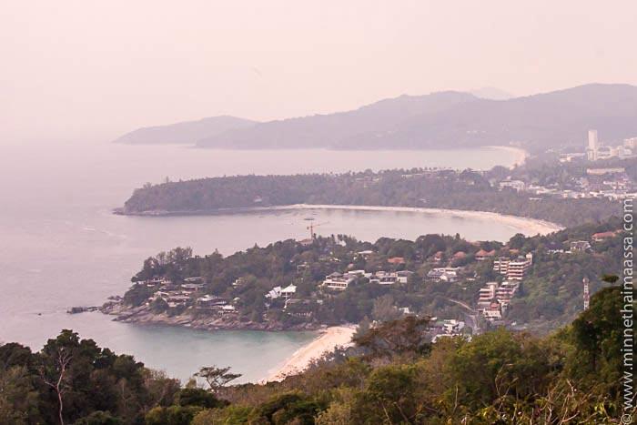 Näköalapaikka Phuket Thaimaa