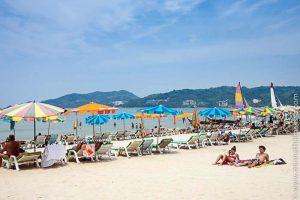 Patong Beach Phuket Thaimaa