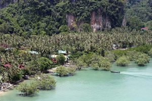 Railay East Krabi Thaimaa