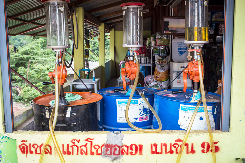 thaimaa bensa-asema