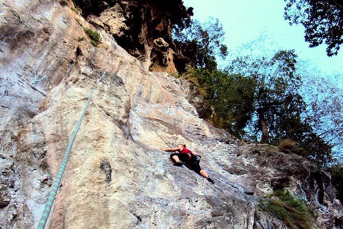 Krabi Thaimaa kalliokiipeily
