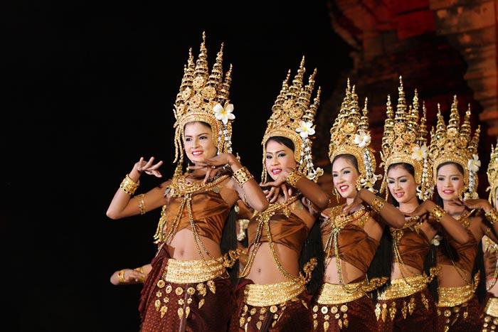 Isaan thai tanssi