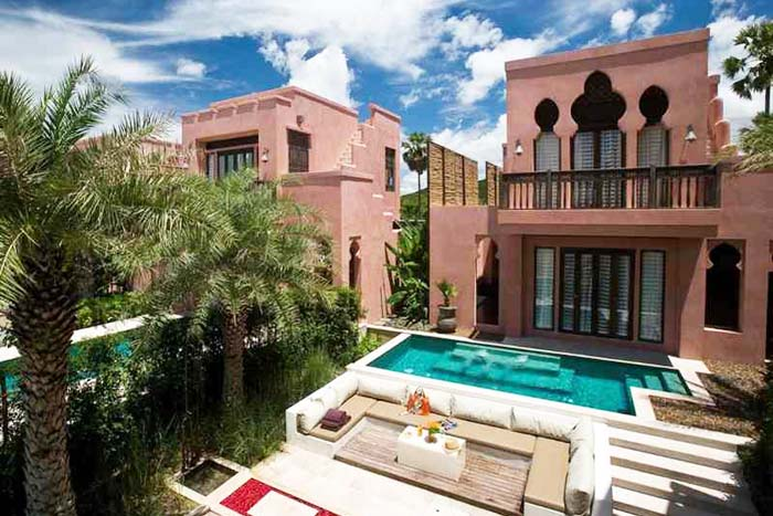 villa maroc pranburi