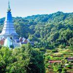 Kuninkaallinen chedi Phra Mahathat.
